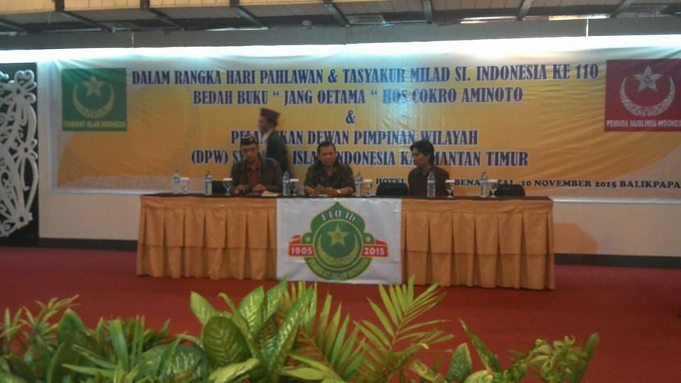 tjokroaminoto-syarikat-islam-indonesia-hari-pahlawan-balikpapan