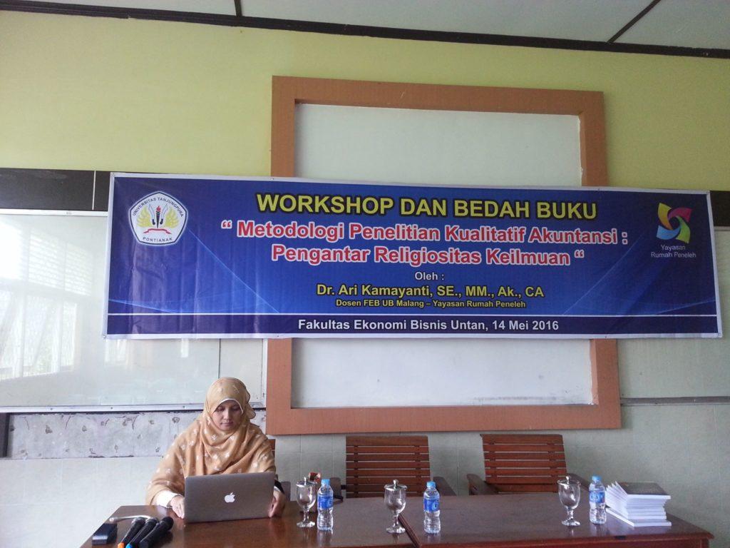 workshop-metodologi-penelitian-kualitatif-akuntansi-universitas-tanjungpura-pontianak-ari-kamayanti