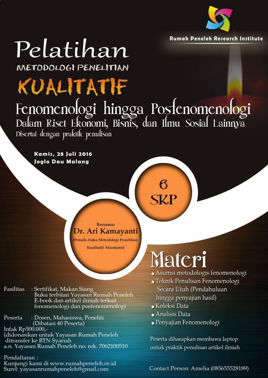 pelatihan-metodologi-penelitian-kualitatif-akuntansi-malang-ari-kamayanti