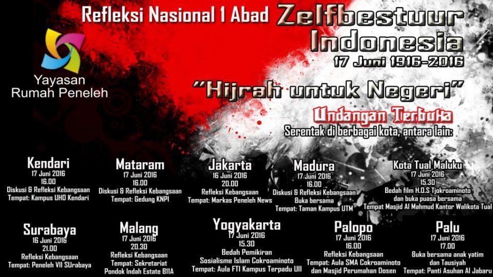 zelfbestuur-indonesia-tjokroaminoto