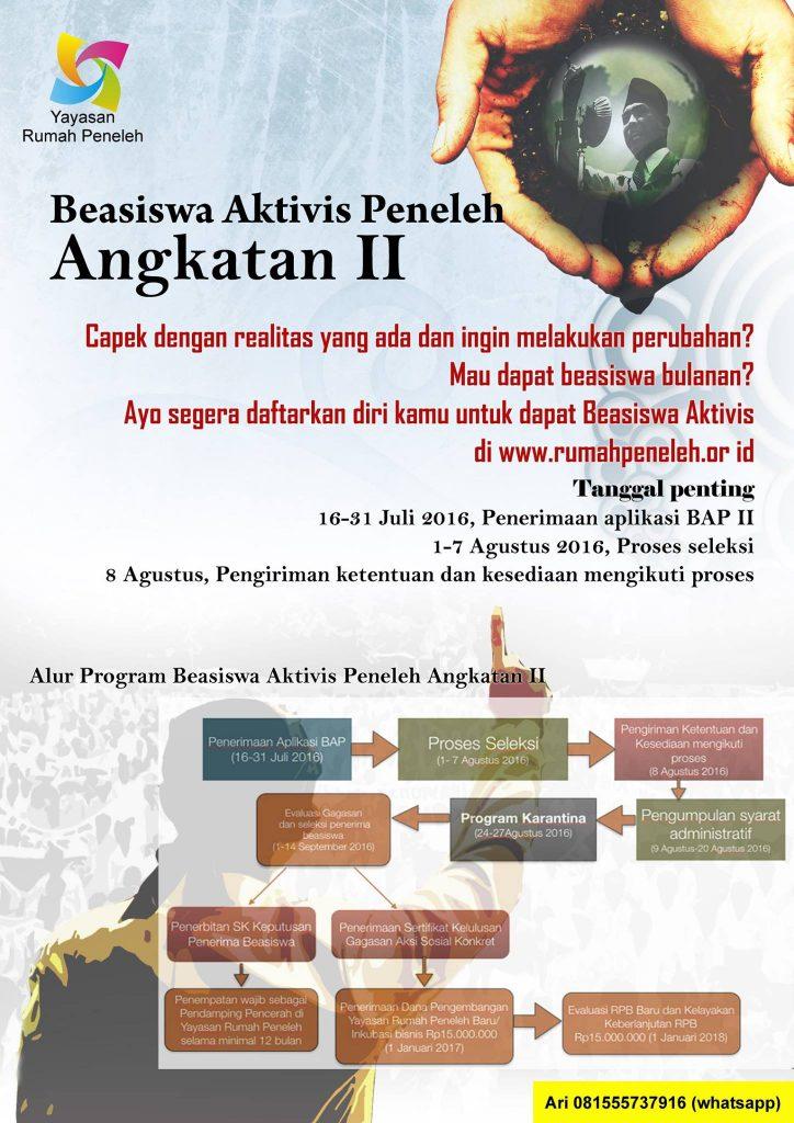 beasiswa-aktivis-peneleh-malang
