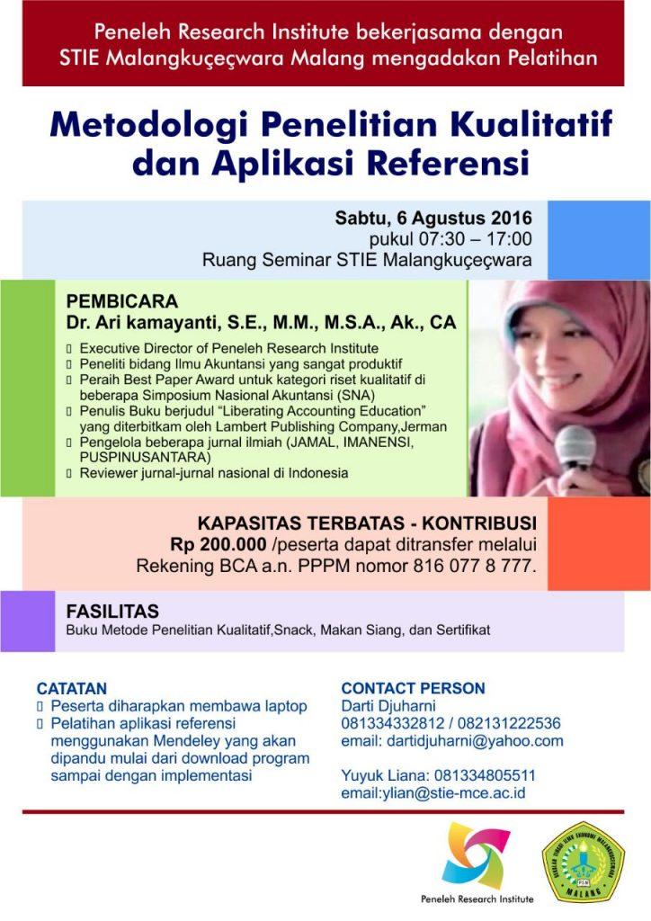metodologi-penelitian-akuntansi-rumah-peneleh-hos-tjokroaminoto-malang-stie-malangkucecwara